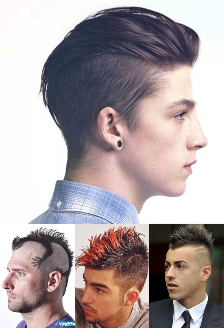 Mohawk Hairstyle for Guys - Mohawk fade haircut