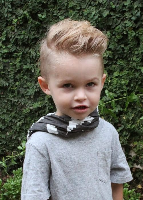 This Style Is Perfect For The Little Hipsters That Want Unique Toddler Boy Haircuts