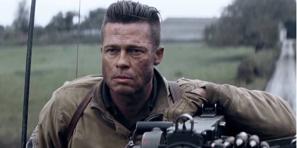 Brad Pitt S Fury Haircut A Stylish Undercut Gallery