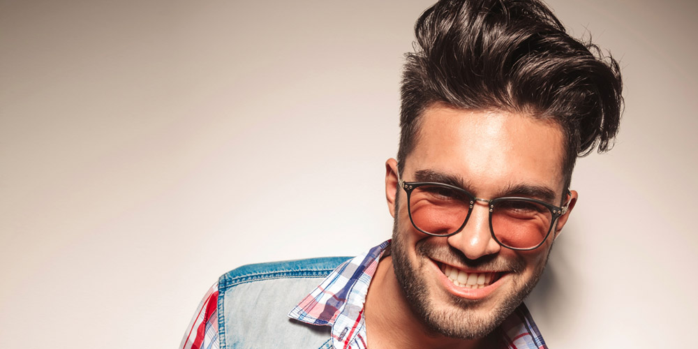 Terrific 29 Favorite Haircuts For Men With Glasses Find Your Perfect Style Hairstyle Inspiration Daily Dogsangcom