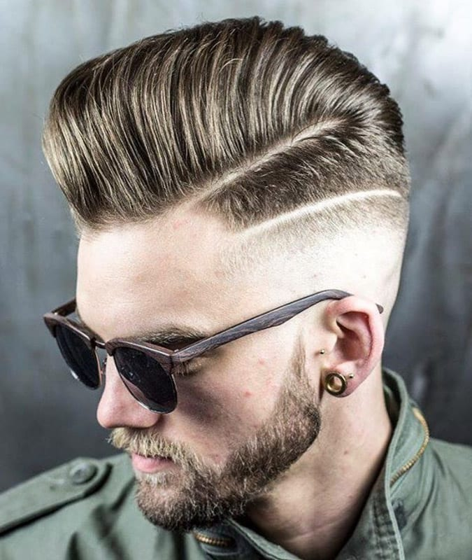25 Hard Part Haircuts: Reviving An Old Classic