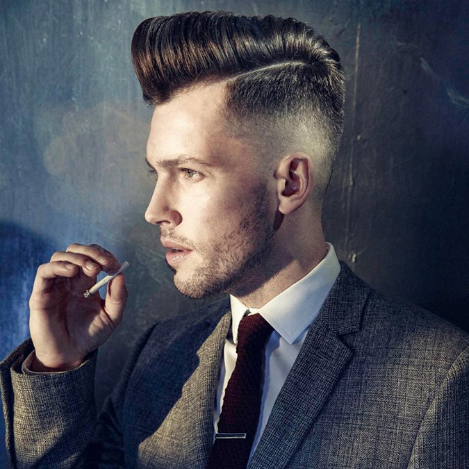 Stylish Pompadour