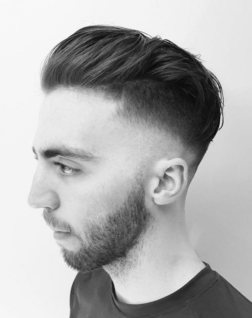 slick back hair styles 40 taper fade haircuts for clean cut gents 2184