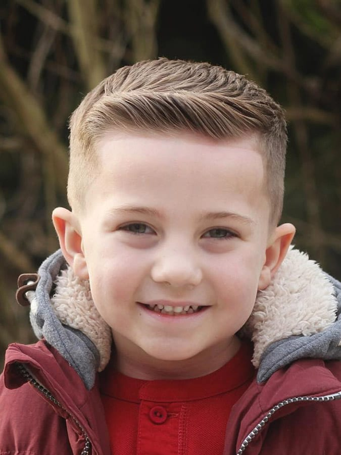 Hairstyles For Kids : 35 Cute Toddler Boy Haircuts - Page 28