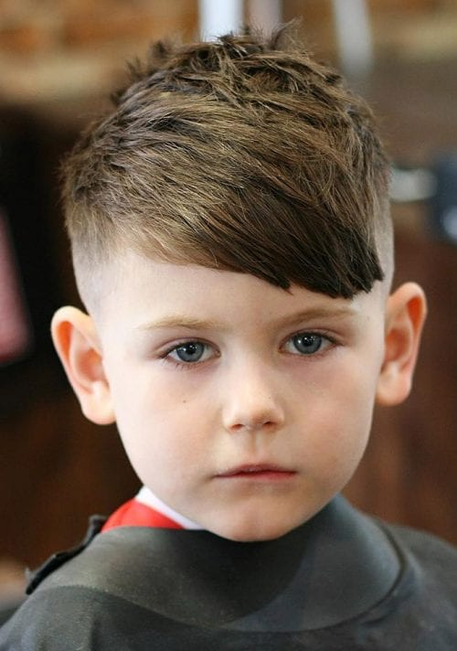 style boys hair 35 toddler boy haircuts your will 9371 | Asymmetrical Fringe 1 500x712