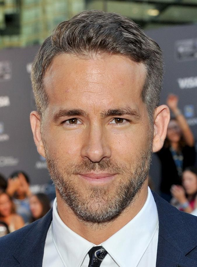 Comb Over Ryan Reynolds