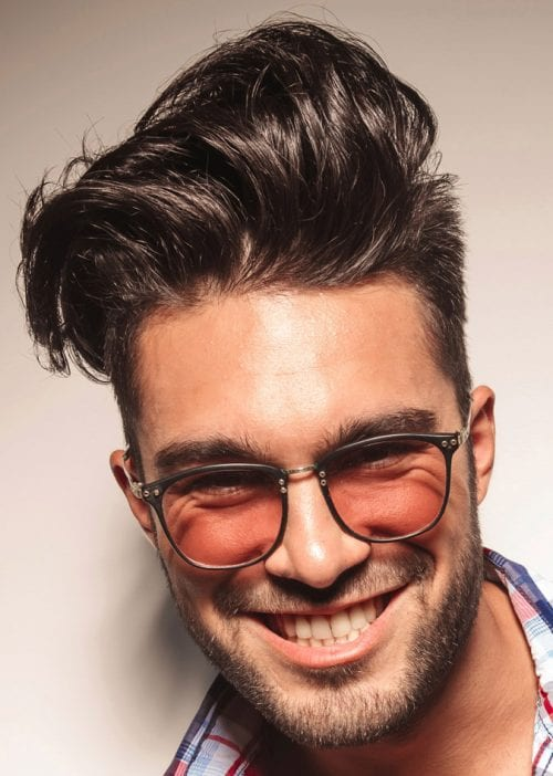 Haircuts For Guys With Round Faces - Long hairstyle for round face man