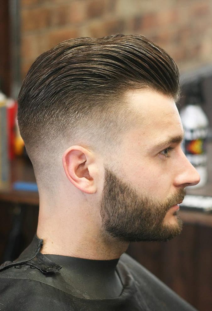 Skin Fade Haircut For Men In Hanoi Barber Shop Dy Ngh Tc Cp