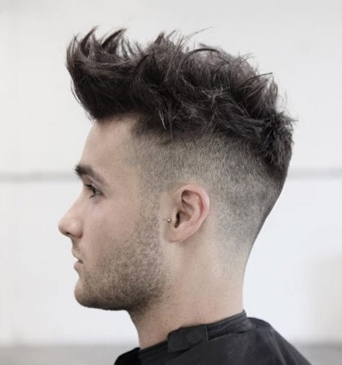 Haircuts For Guys With Round Faces - Asian quiff hairstyle