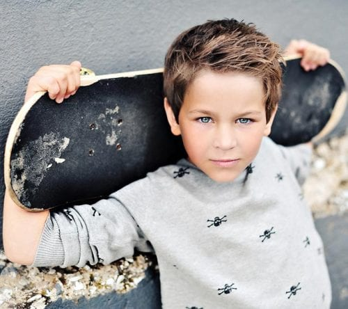 40 Cool Haircuts For Kids