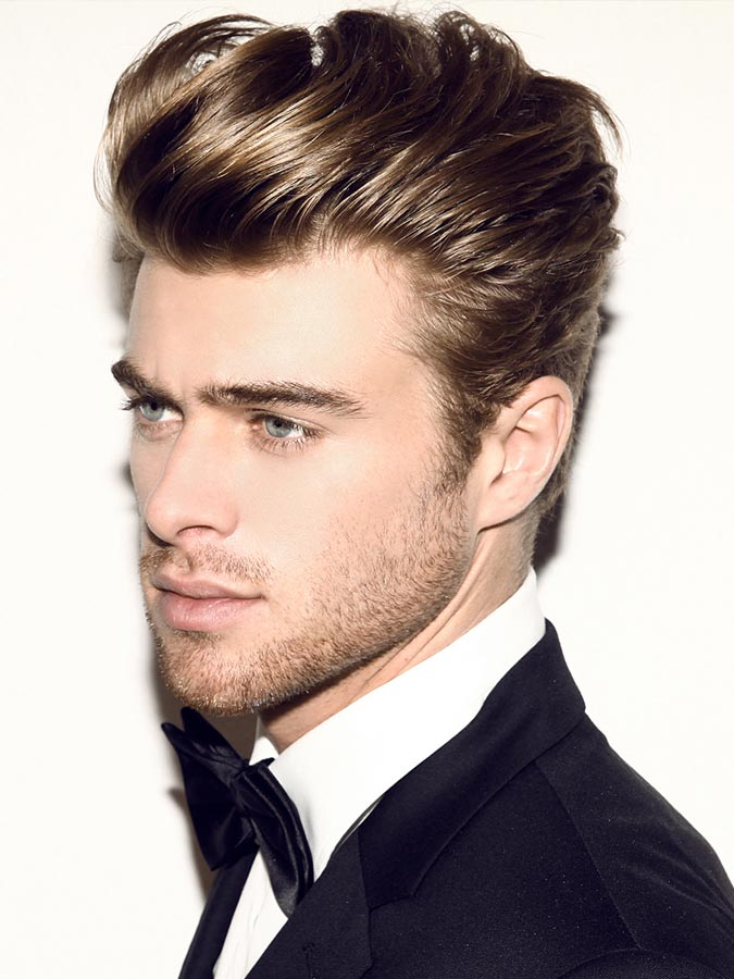 Elegant Quiff Hairstyle