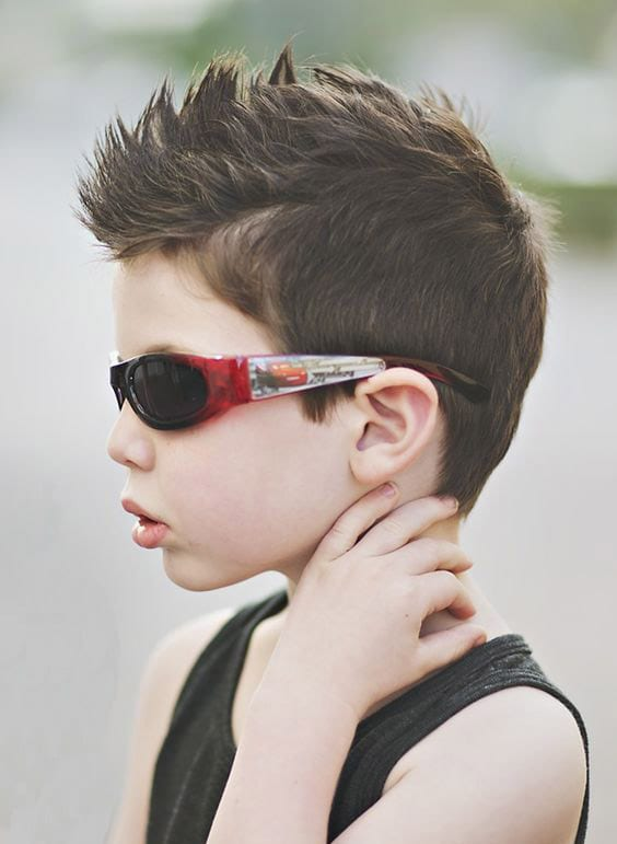 Mohawk and Shades Style
