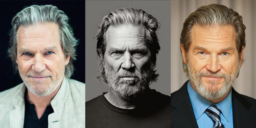 Jeff Bridges with Gery Hair