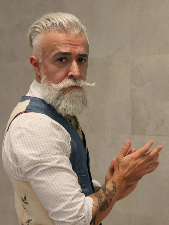 Superb 15 Glorious Hairstyles For Men With Grey Hair A K A Silver Foxes Hairstyle Inspiration Daily Dogsangcom