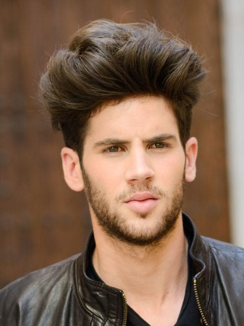 20 haircuts for men with thick hair high volume high volume brush up hairstyle winobraniefo Gallery