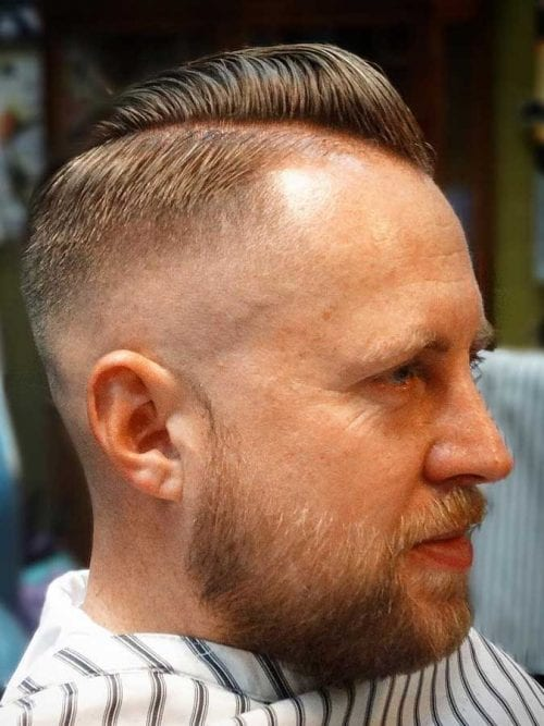 Nice Pompadour For Thin Hair