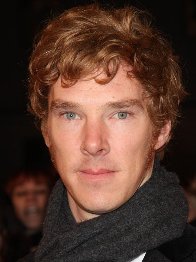 Benedict Cumberbatch as Ginger Curly hair