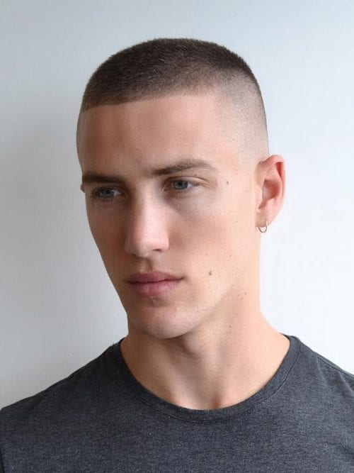 mens haircuts buzz cut 20 masculine buzz cut examples tips amp how to cut guide 3837