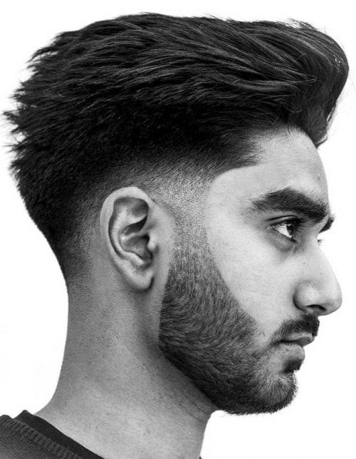 hair cutting style for man 40 adventurous brush up hairstyle ideas how to cut amp style 8930 | Flow Back Texture 500x644