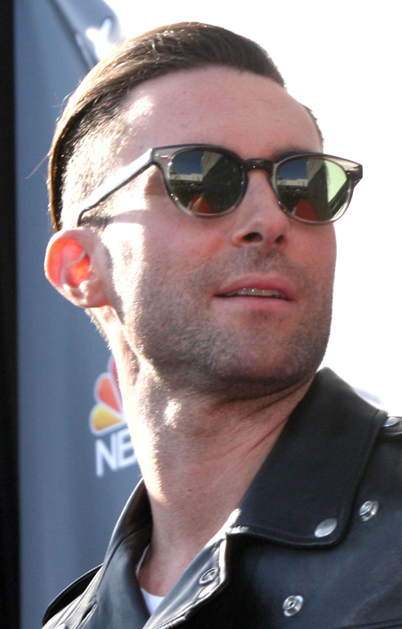 Adam Levine's Disconnected Undercut