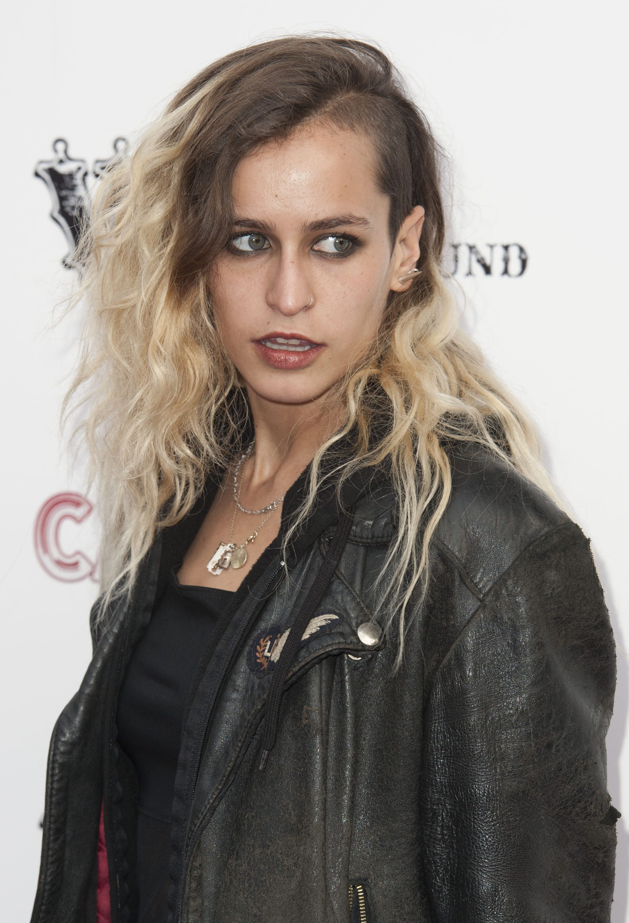 Alice Dellal Undercutting it in the Middle