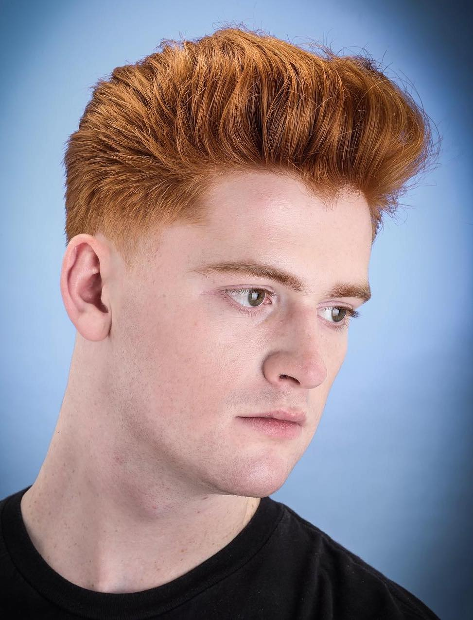 Almost Ginger Thick Hair Top