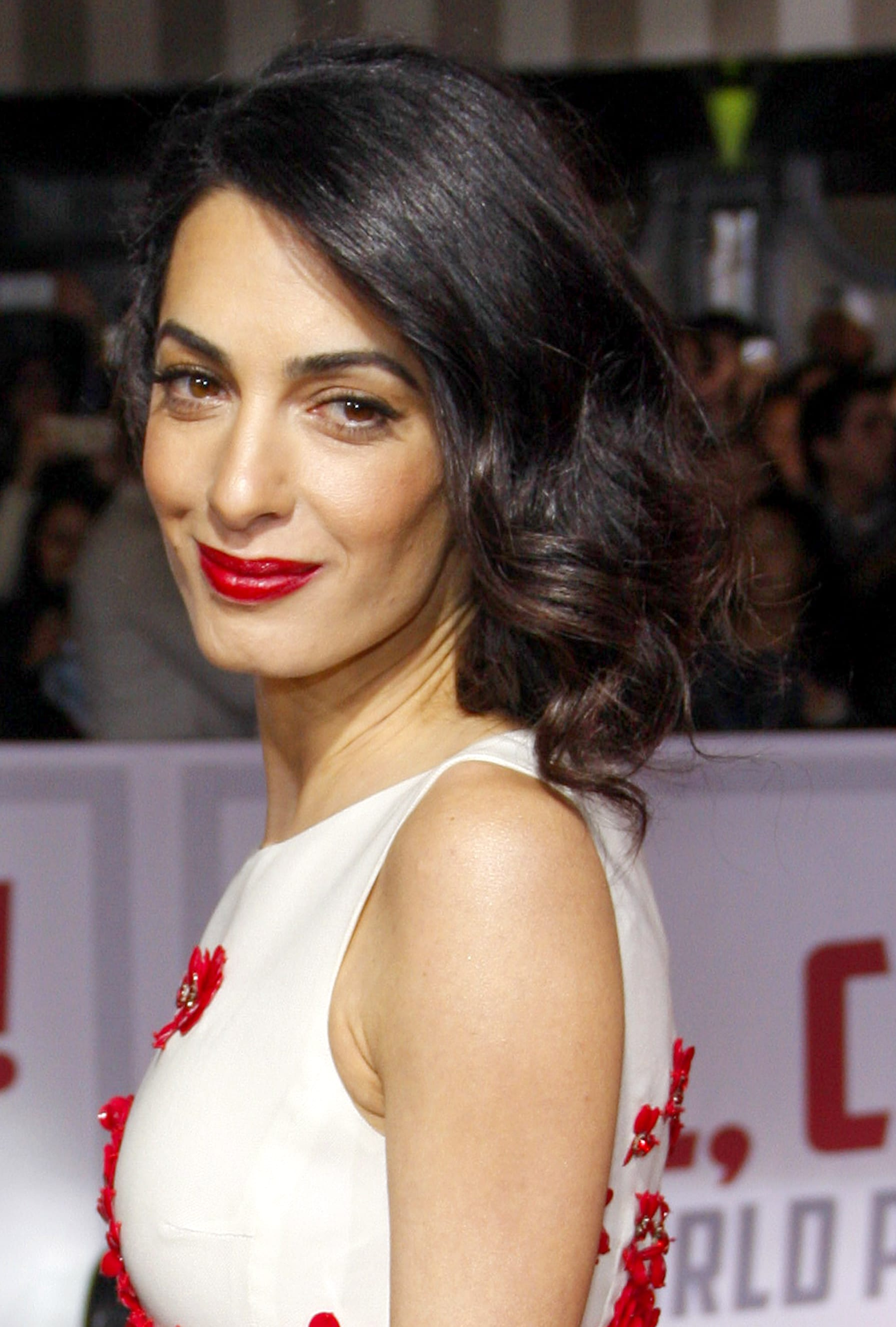 Amal Clooney's Side Swept Bob