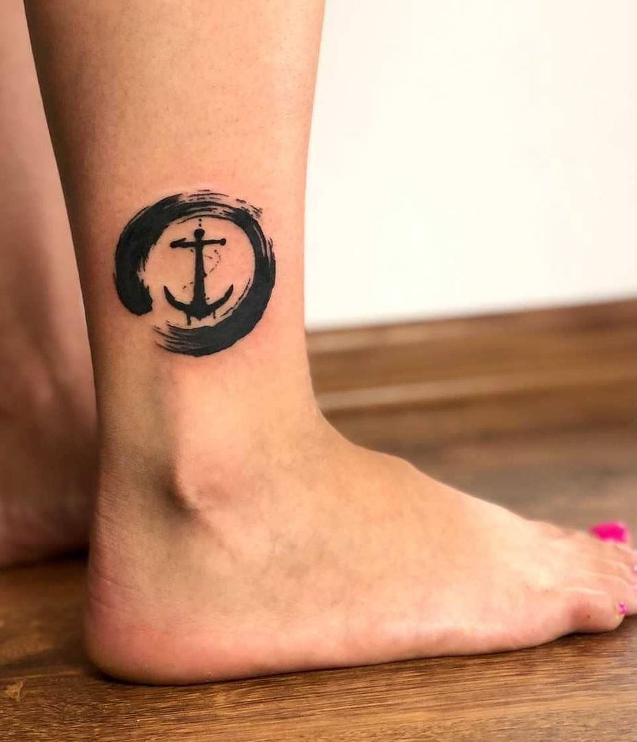 Anchored Ankle with Protected Circle
