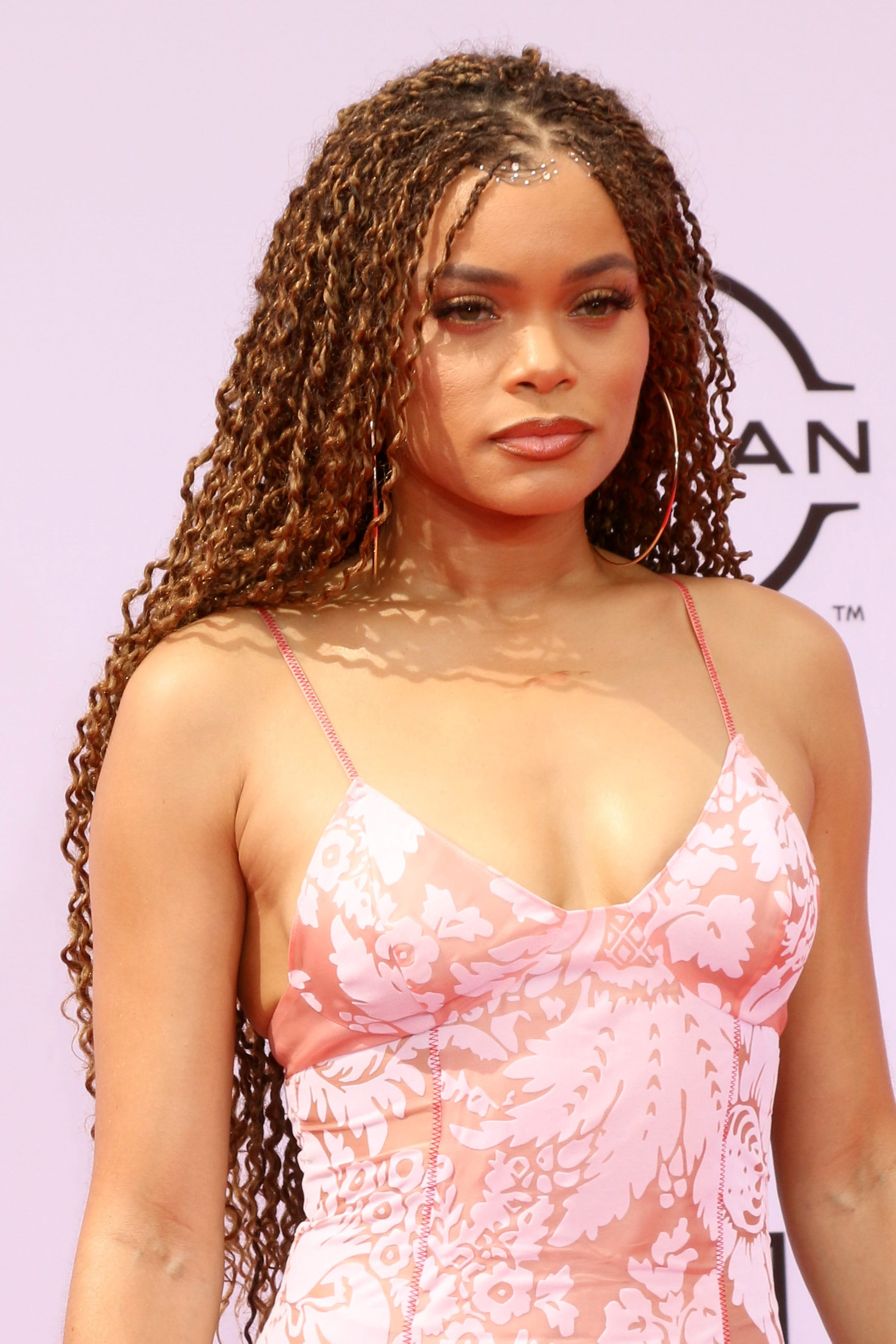 Andra Day's Twisted Curls