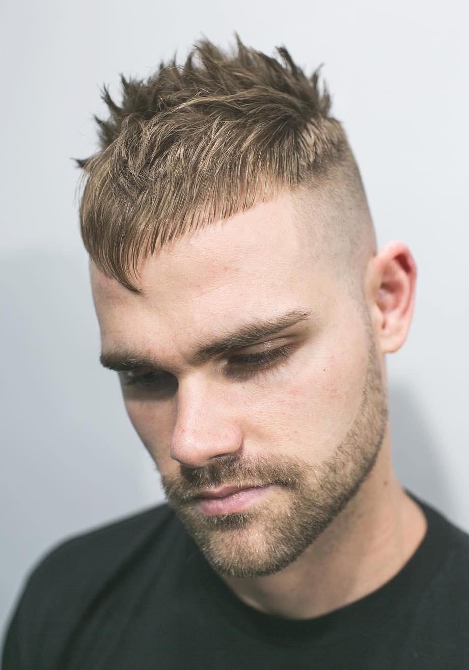 Angular Fringe with Skin Fade