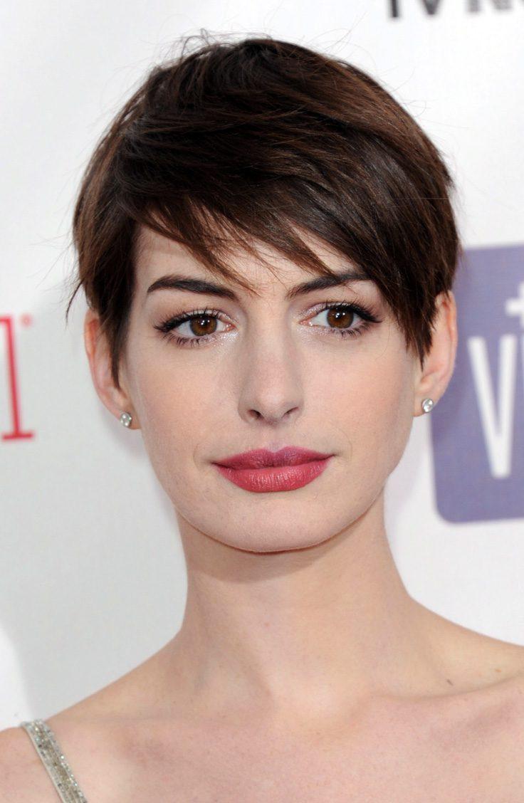 Anne Hathaway's Pixie Haircut