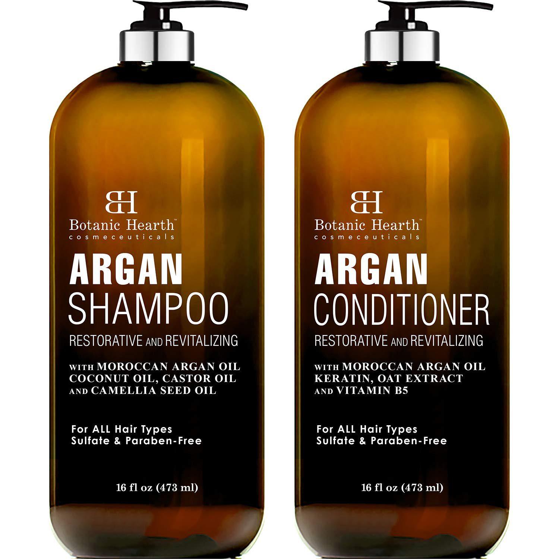 Argan Oil Shampoo and Conditioner Set
