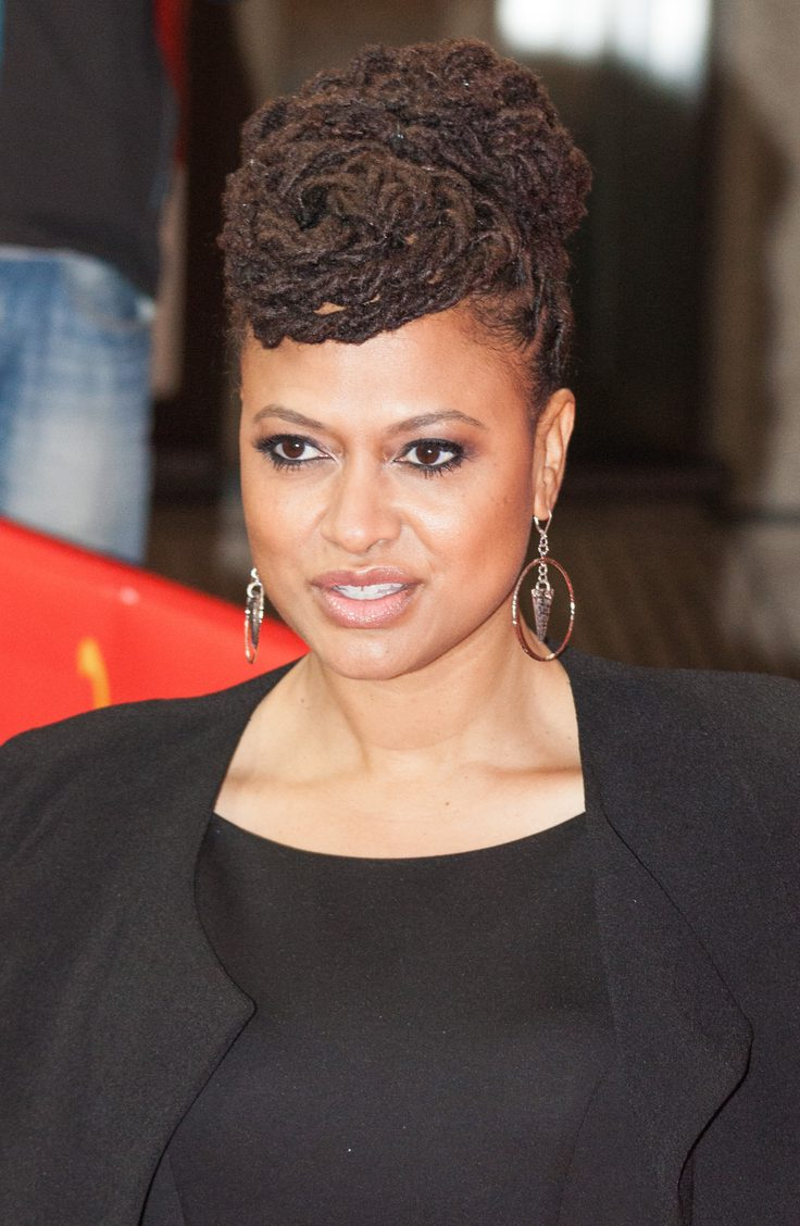 Ava Duvernay Updo Hairstyle