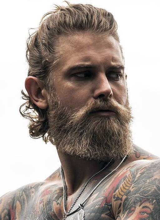 Beard Blend Moustache