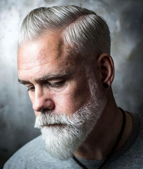 15 Glorious Hairstyles For Men With Grey Hair (a.k.a