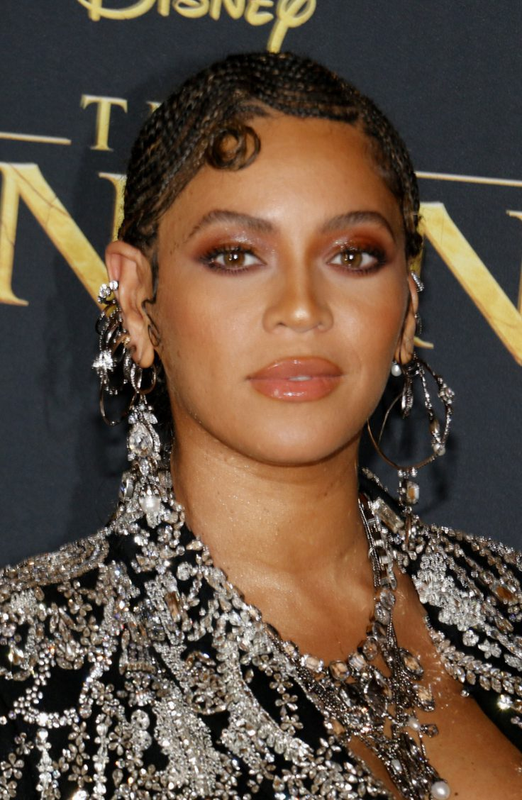 Beyonce's Glam Protective Hairstyle