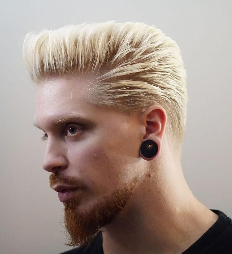 Blonde Dye and Ginger Beard