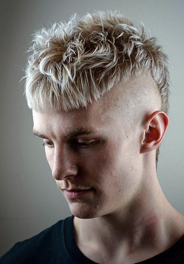 Blonde Mullet