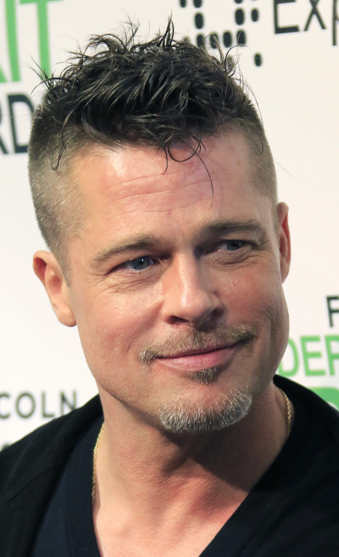 Brad Pitt's Messy Quiff