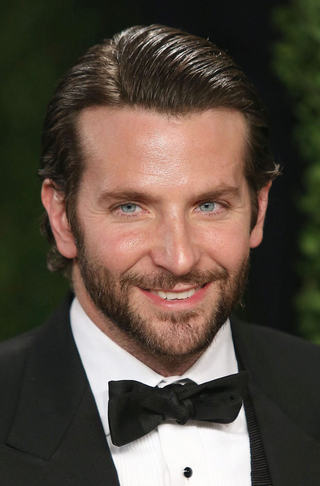 Bradley Cooper parted comb over