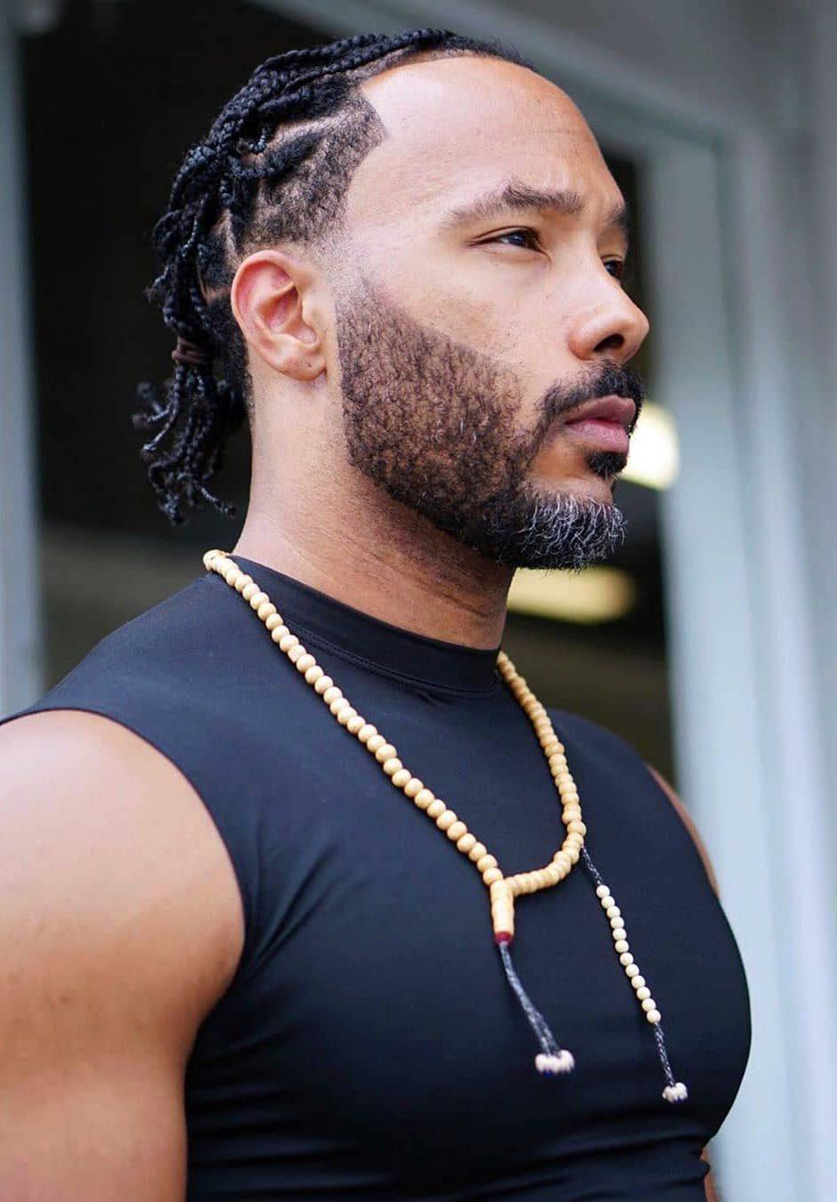 Braided Afro Muscle Panache