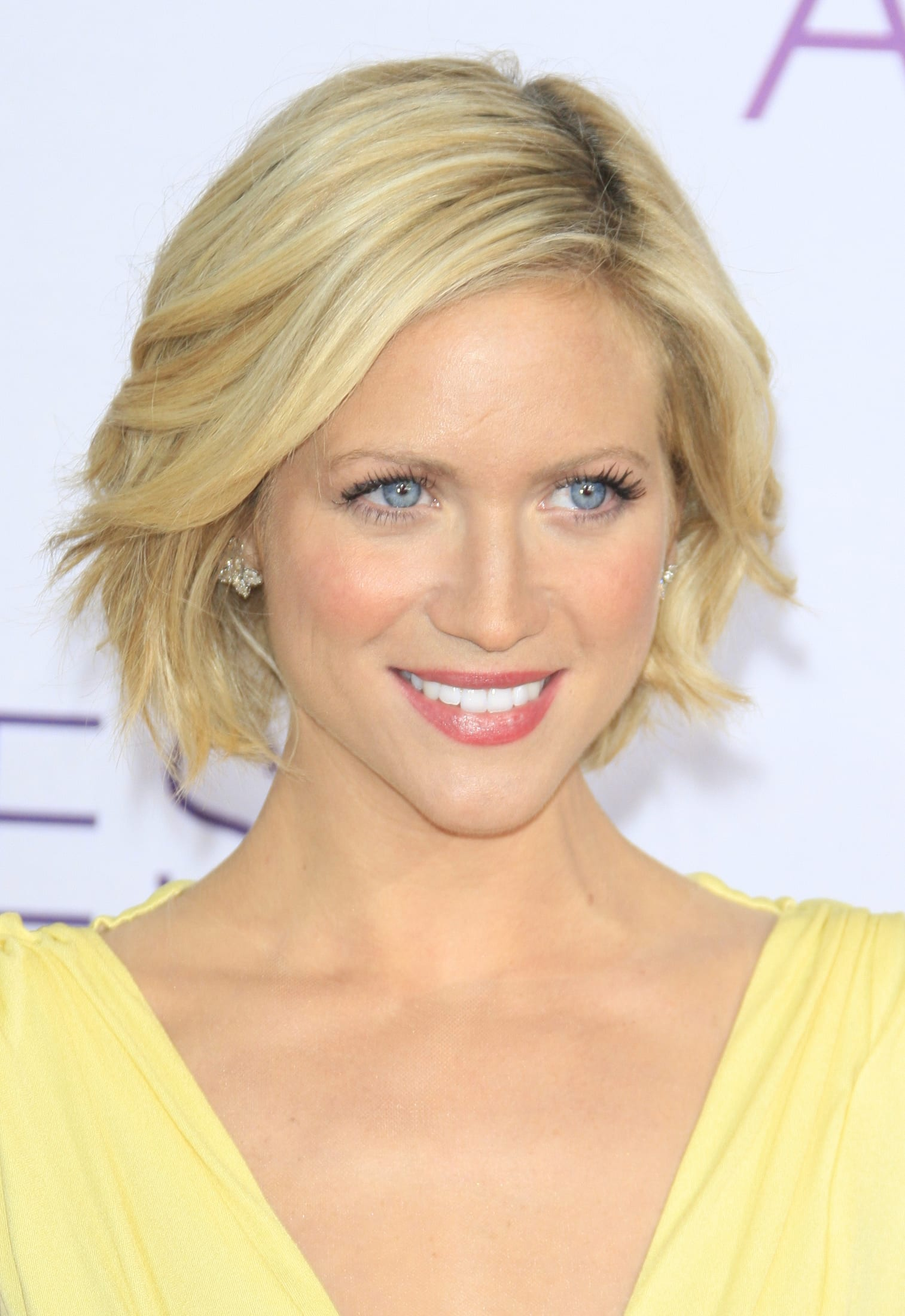 Brittany Snow's Mid-Part with Layered Bob