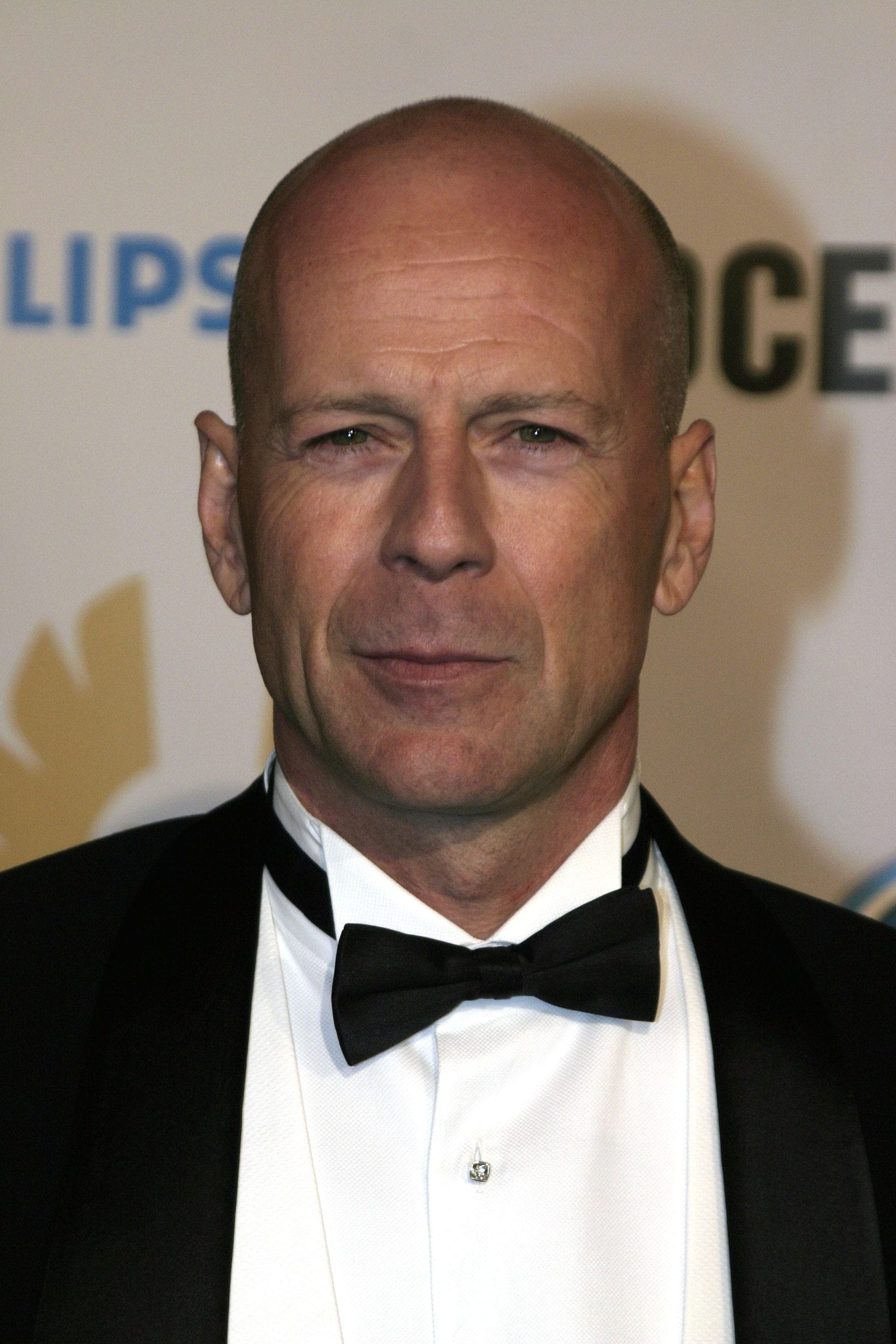 Bruce Willis Clean Shave