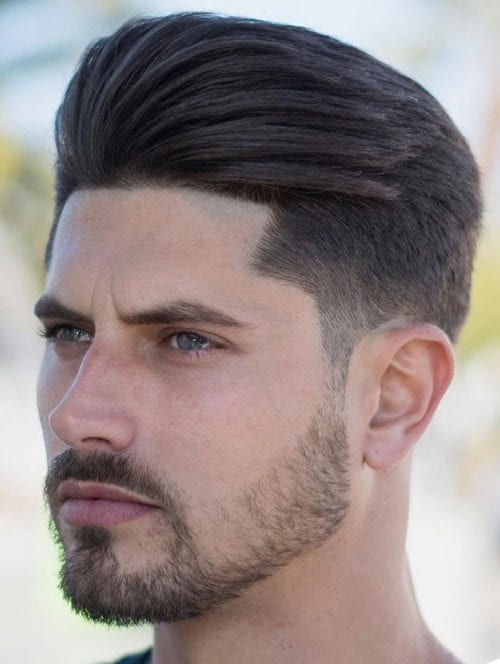 how to style hair back men 50 stylish undercut hairstyle variations a complete guide 6433 | Brushed up and Back Undercut 500x664