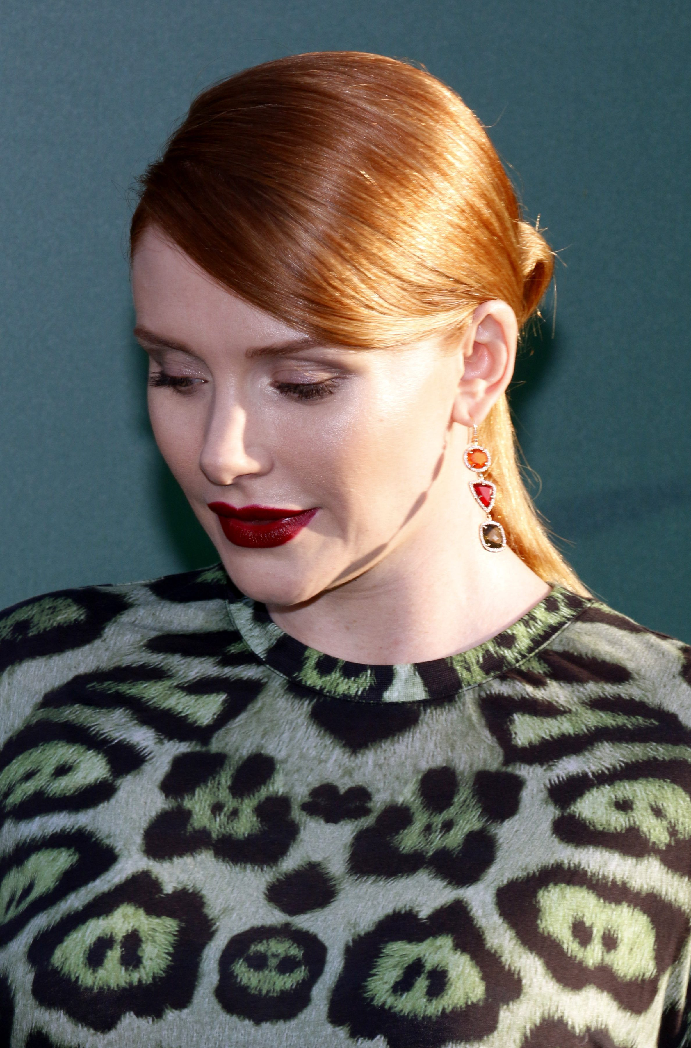 Bryce Dallas Howard's Ponytail with Bun