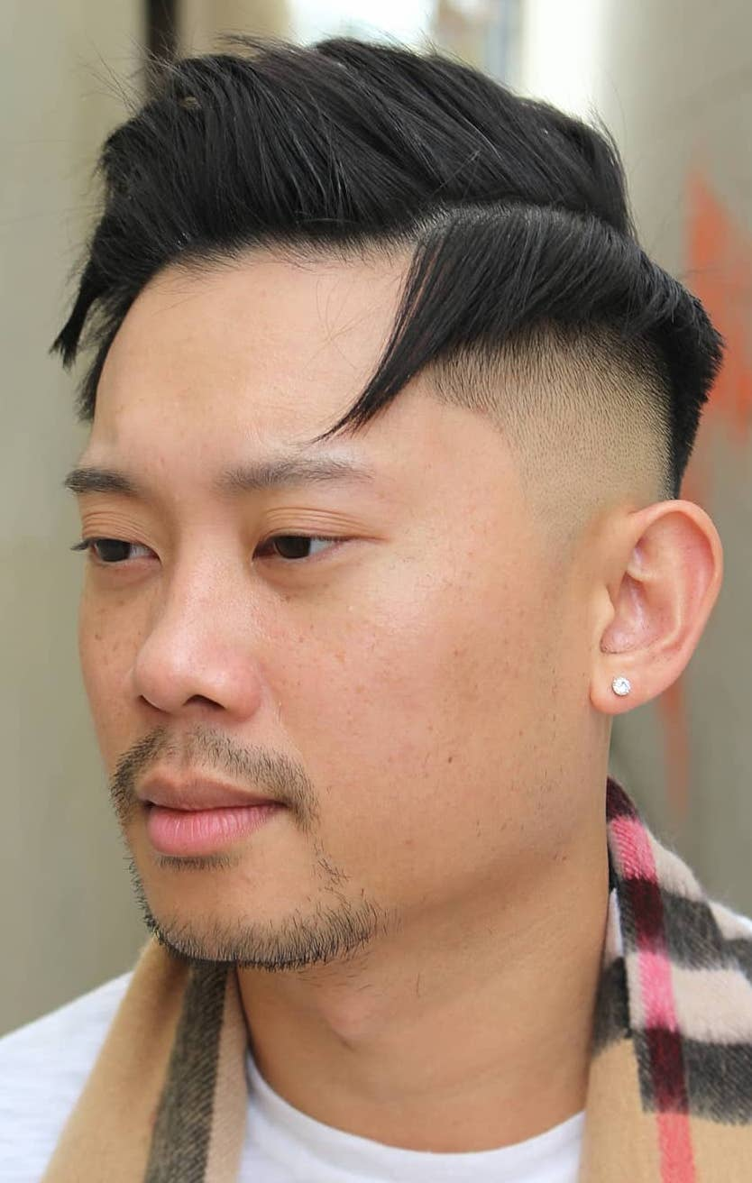 Top 30 Trendy Asian Men Hairstyles 2020
