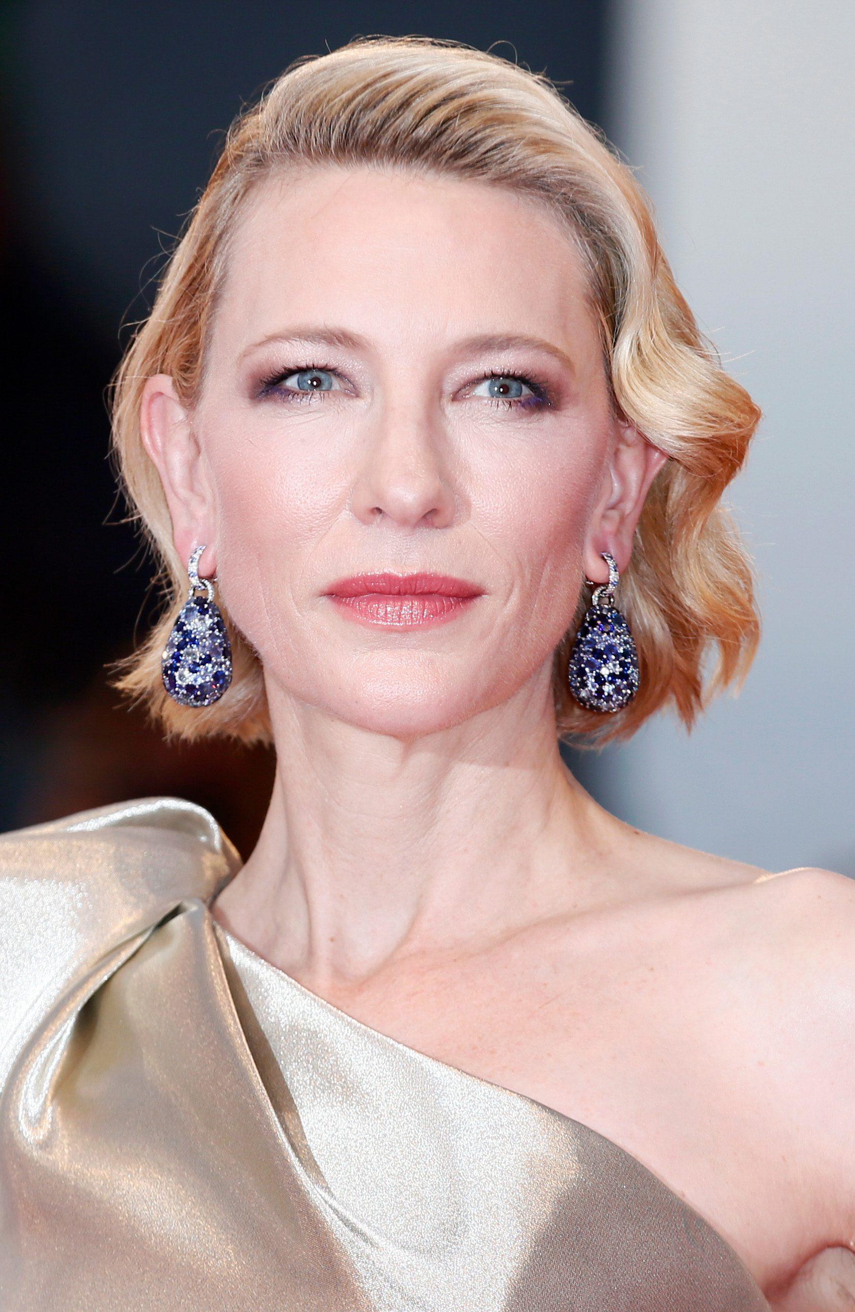 Cate Blanchett's Sleek Waves