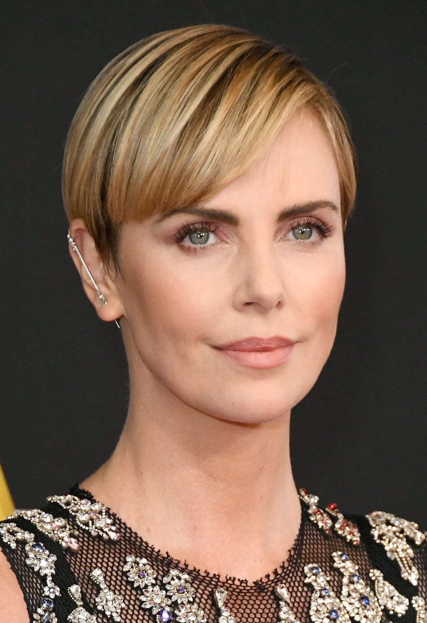 Charlize Theron's Highlight and Pixie