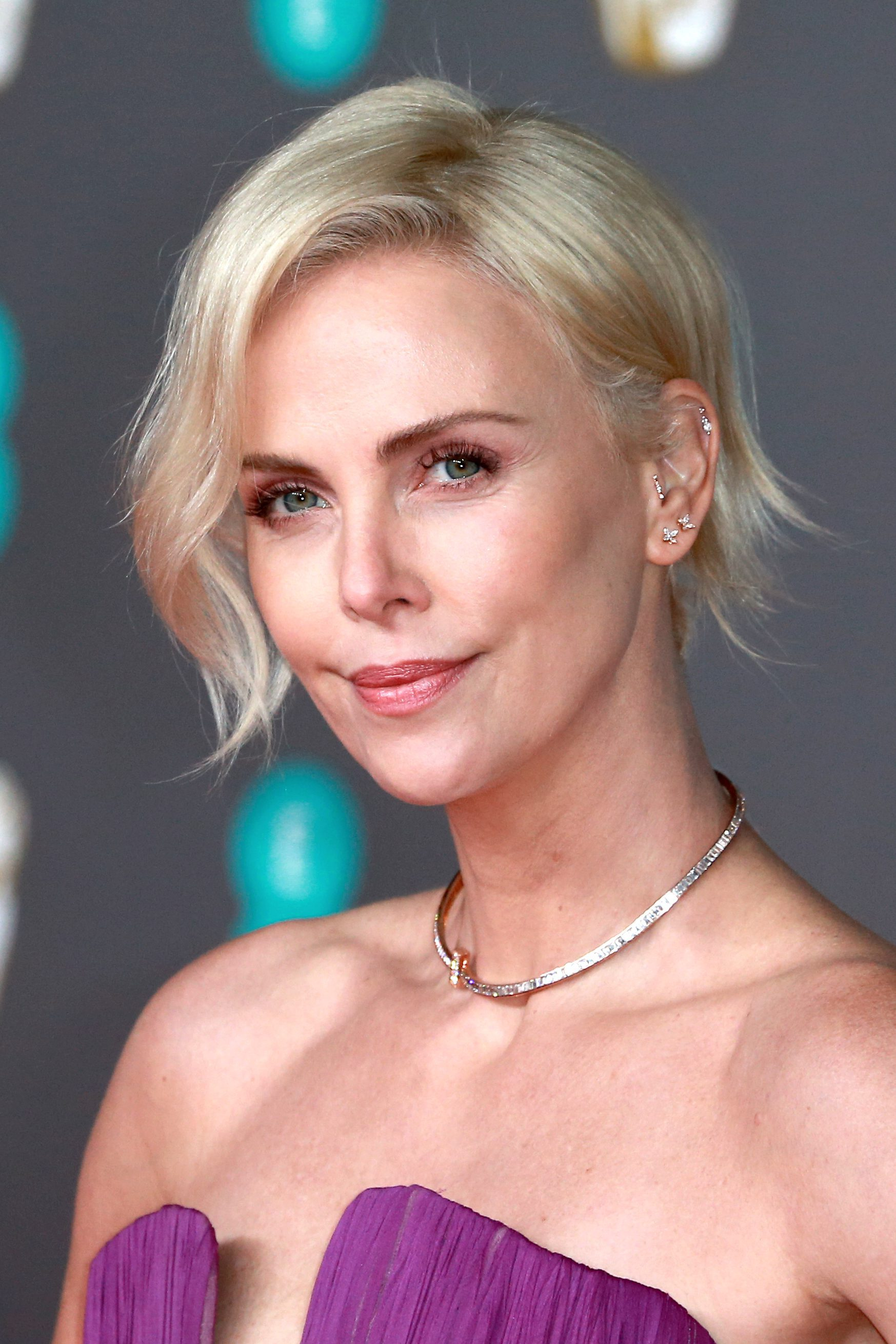 Charlize Theron's Short, Soft Layers
