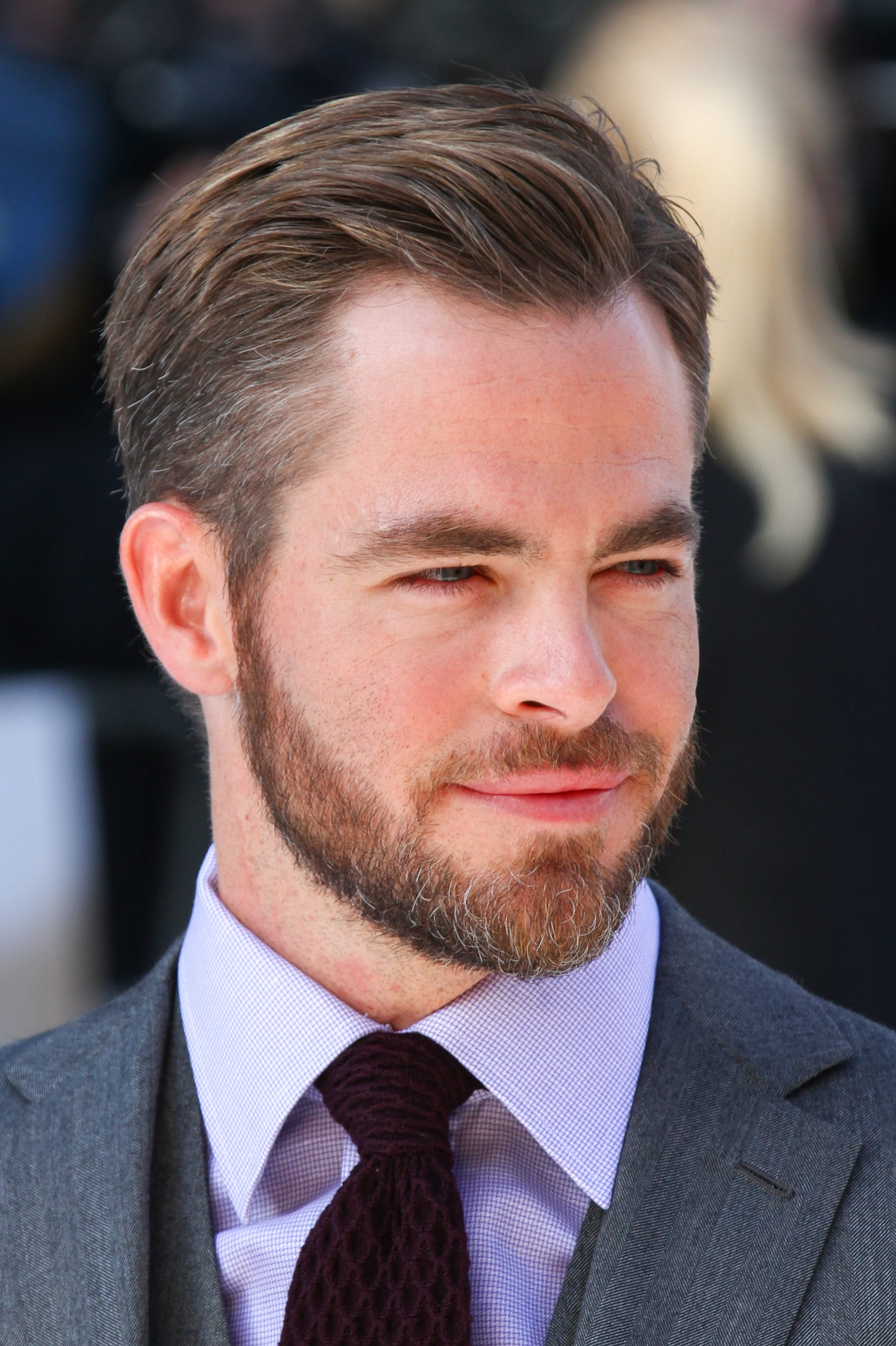 Chris Pine's Scissors Crop
